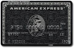 アメリカン,エキスプレス,クレジットカード,ブラックカード,センチュリオンカード